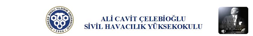 Ali Cavit Çelebioğlu Sivil Havacılık Yüksekokulu